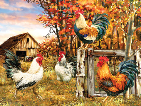 Puzzle - Rooster Farm 300 Pieces