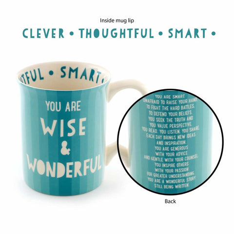 Wise and Wonderful Mug