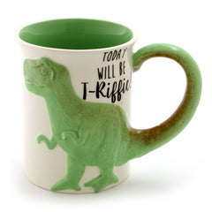 T-Riffic Tea Rex Sculpted Mug