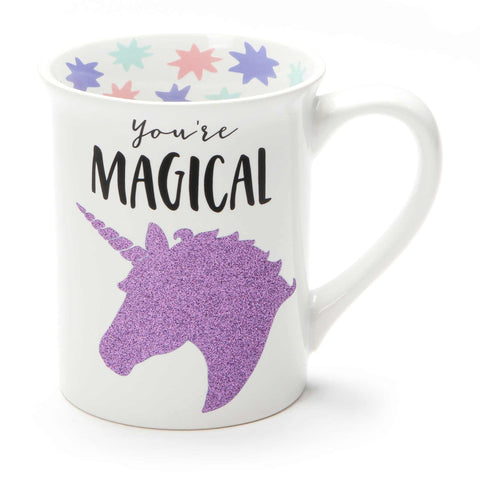 Magical Unicorn Glitter Mug