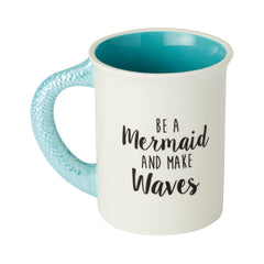 Mermaid Sculpted Mug