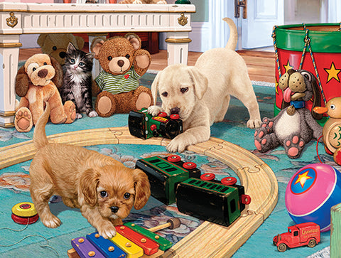 Puzzle - Puppies Playtime 300 Pieces