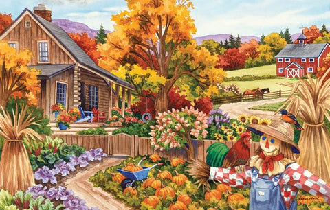Puzzle - Livin' in the Country 100 Pieces