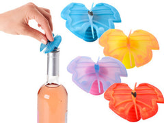 Butterfly Bottle Stopper - Red - Charles Viancin - Jules Enchanting Gifts