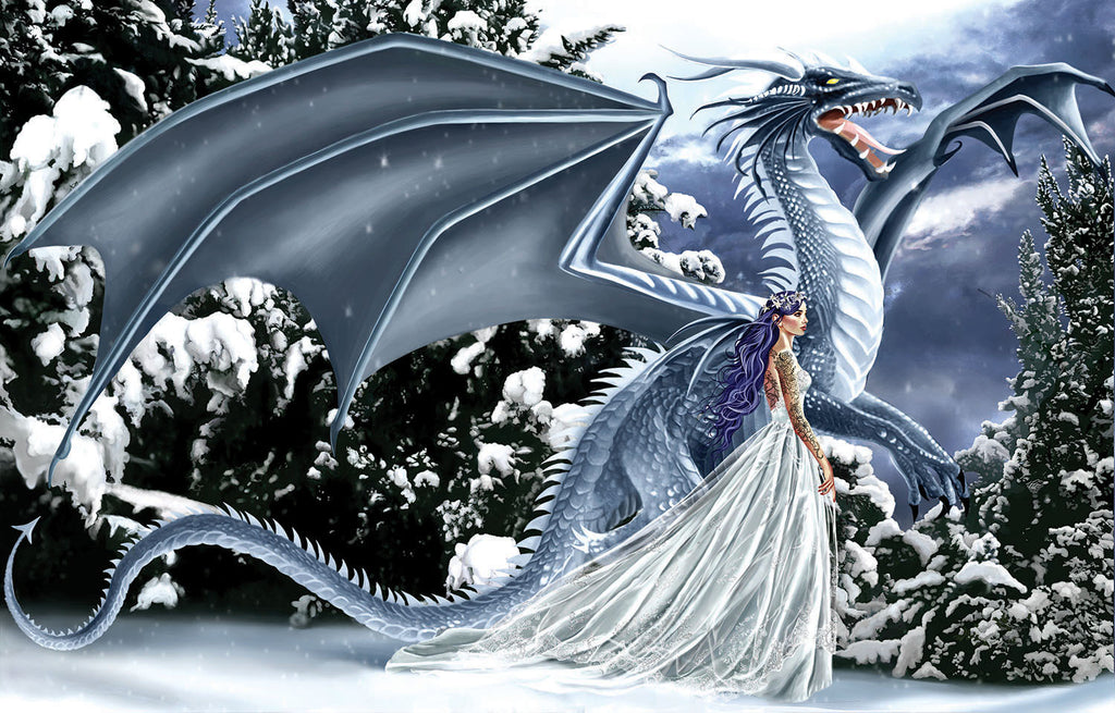Puzzle - Ice Dragon 1000 Pieces