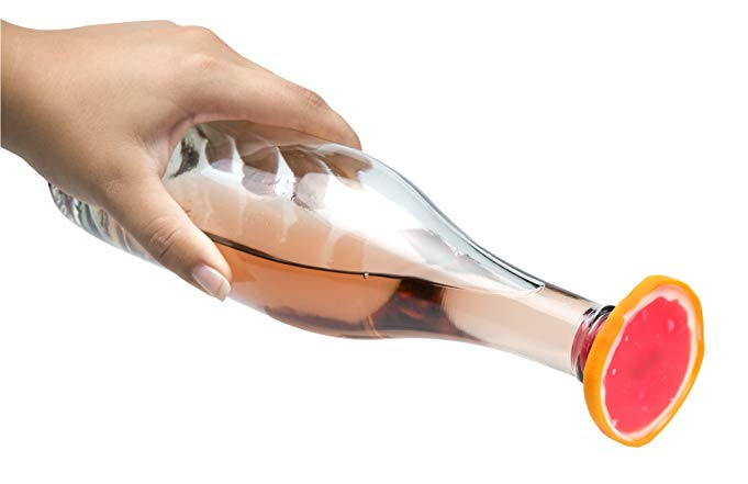 Grapefruit Bottle Stopper