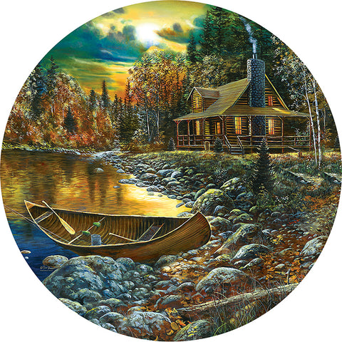 Puzzle - Fall Cabin 500 Pieces