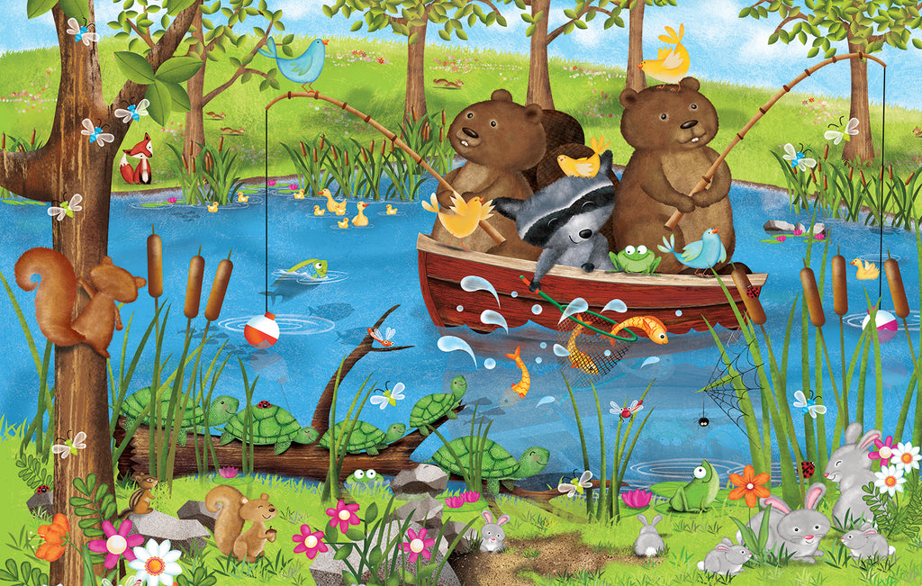 Puzzle - Going Fishing 100 Pieces