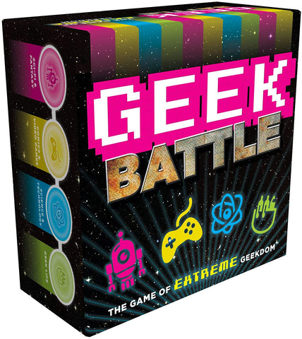Geek Battle Game - The Game of Extreme Geekdom