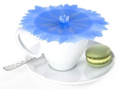"Cornflower Drink Covers 4"" Set of 2 - Charles Viancin - Jules Enchanting Gifts"