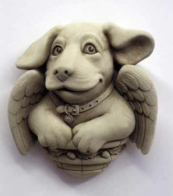 Cherub Puppy - Carruth Studio