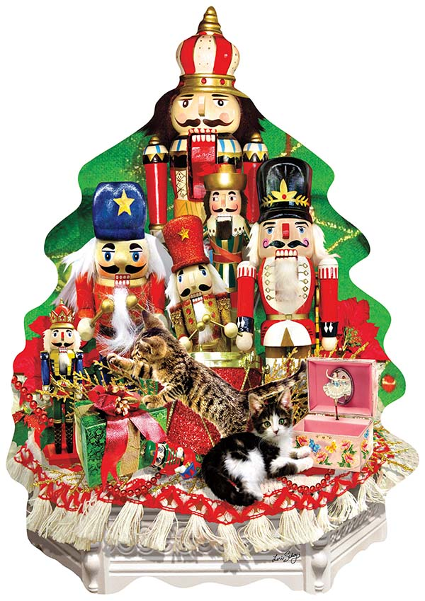 Puzzle - A Nutcracker Christmas Shaped