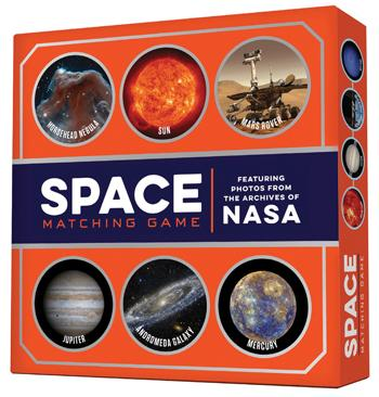 Space Matching Game - Featuring Photos from the Archives of NASA