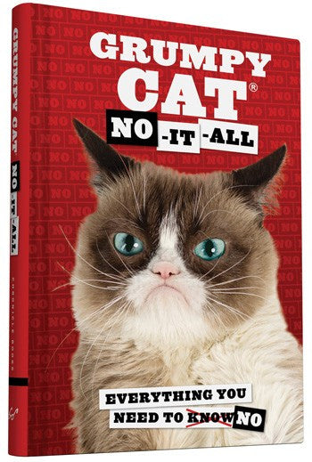 Grumpy Cat: No-It-All - Hachette Book Group - Jules Enchanting Gifts
