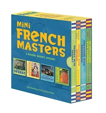 Mini French Masters Board Book Set