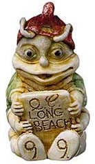 1999 Byron Long Beach Pendant - Harmony Kingdom - Jules Enchanting Gifts