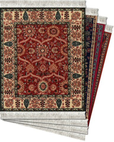 Assorted Metropolitan Museum of Art – 4-pc CoasterRug® Set - MouseRug - Jules Enchanting Gifts