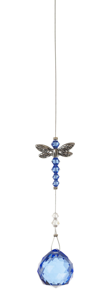 Dragonfly with 20mm Blue Crystal Ball