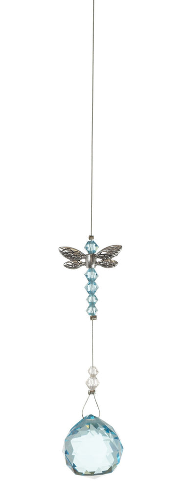 Dragonfly with 20mm Aqua Crystal Ball