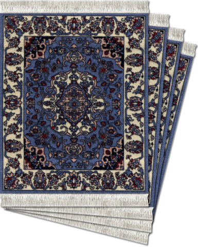 Contemporary Jaipur Ð 4-pc CoasterRug¨ Set - MouseRug - Jules Enchanting Gifts