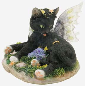Faerie Glen Cat - Zoe - Munro Gifts - Jules Enchanting Gifts
