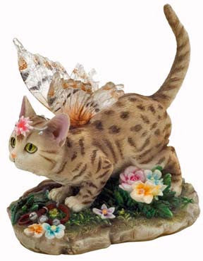 Faerie Glen Cat - Annabelle - Munro Gifts - Jules Enchanting Gifts