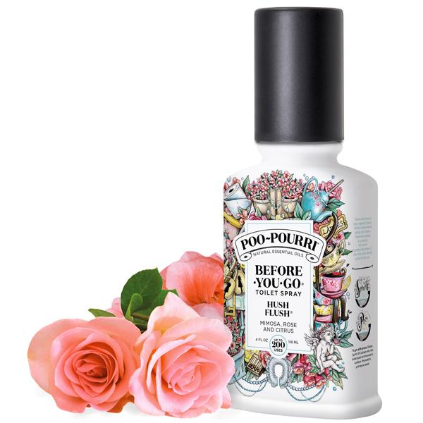 Poo Pourri - Hush Flush 4oz Bottle