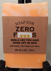Soap for Zero F**ks