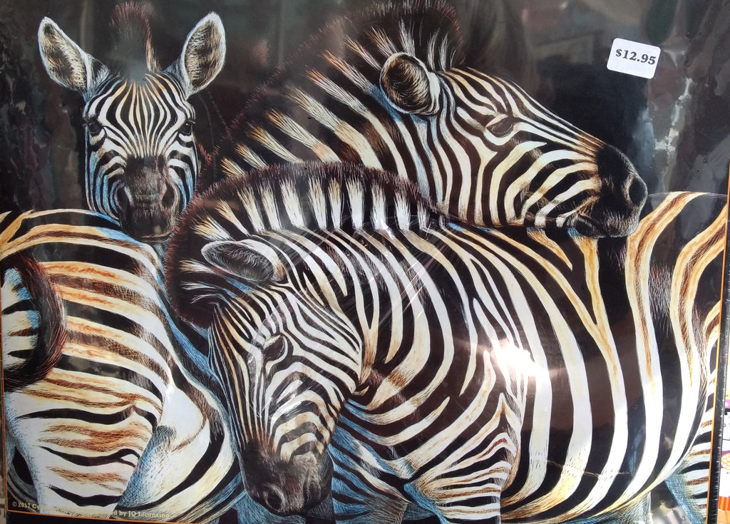 Puzzle - Zebras 500 Pieces