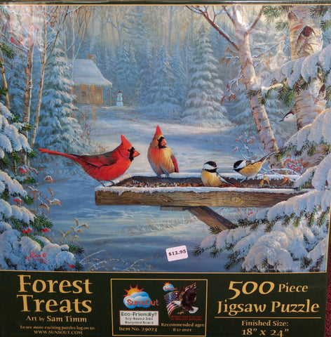 Puzzle - Forest Treats 500 Pieces