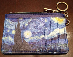 Keychain Wallet - Starry Night