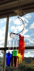 Jules Tones Wind Chime - Over the Rainbow
