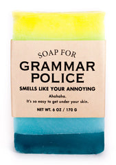 Soap for Grammar Police