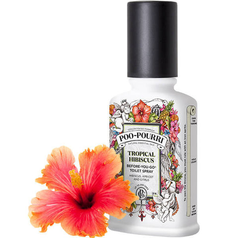 Poo Pourri - Tropical Hibiscus 2oz Bottle - Poo-Pourri - Jules Enchanting Gifts