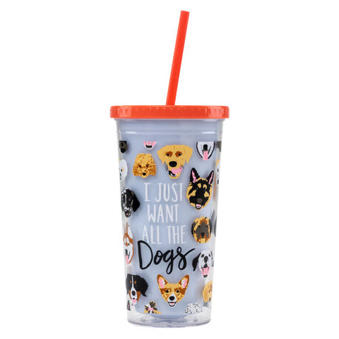 All The Dogs Drink Tumbler