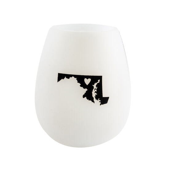 Maryland Silicone Wine Glass