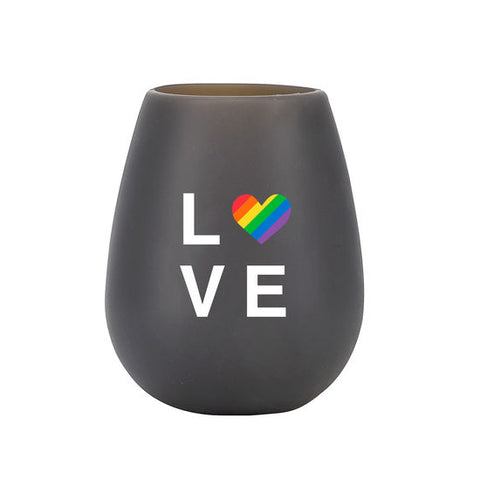 LOVE - Silicone Wine Glass