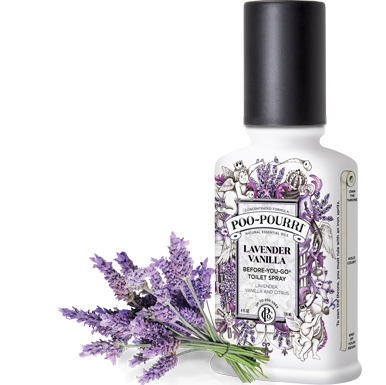 Poo Pourri - Lavender Vanilla 2oz Bottle - Poo-Pourri - Jules Enchanting Gifts