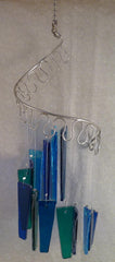 Jules Tones Wind Chime - Wade in the Water - Small