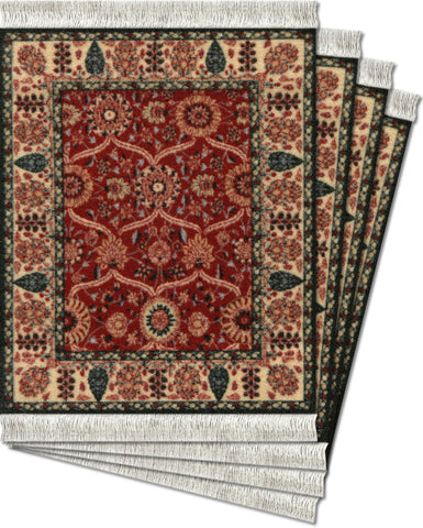 Shah Jahan® - 4-pc CoasterRug® Set - MouseRug - Jules Enchanting Gifts