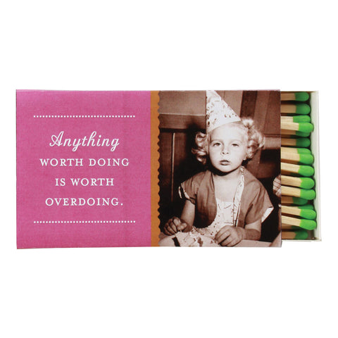 Anything Worth Doing Boxed Matches - Shannon Martin - Jules Enchanting Gifts