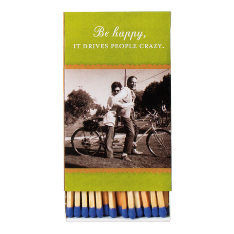 Be Happy Boxed Matches - Shannon Martin - Jules Enchanting Gifts