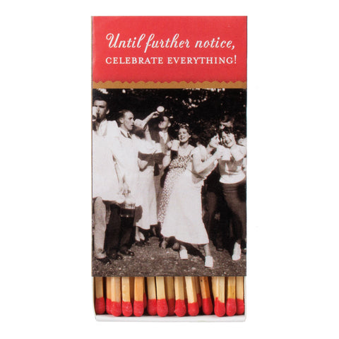 Celebrate Everything Boxed Matches - Shannon Martin - Jules Enchanting Gifts