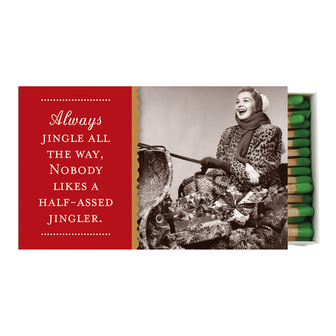 Jingle All the Way Boxed Matches - Shannon Martin - Jules Enchanting Gifts