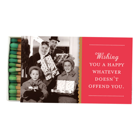 Whatever Doesn't Offend You Boxed Matches - Shannon Martin - Jules Enchanting Gifts