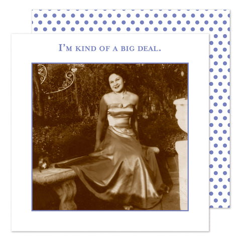 I'm Kind of a Big Deal - Beverage Napkins - Shannon Martin - Jules Enchanting Gifts