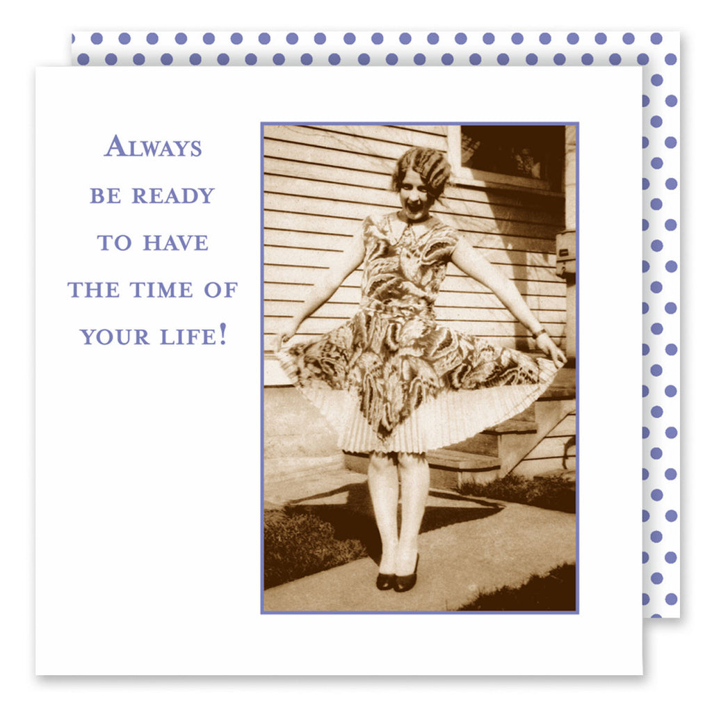 Always Be Ready - Beverage Napkins - Shannon Martin - Jules Enchanting Gifts