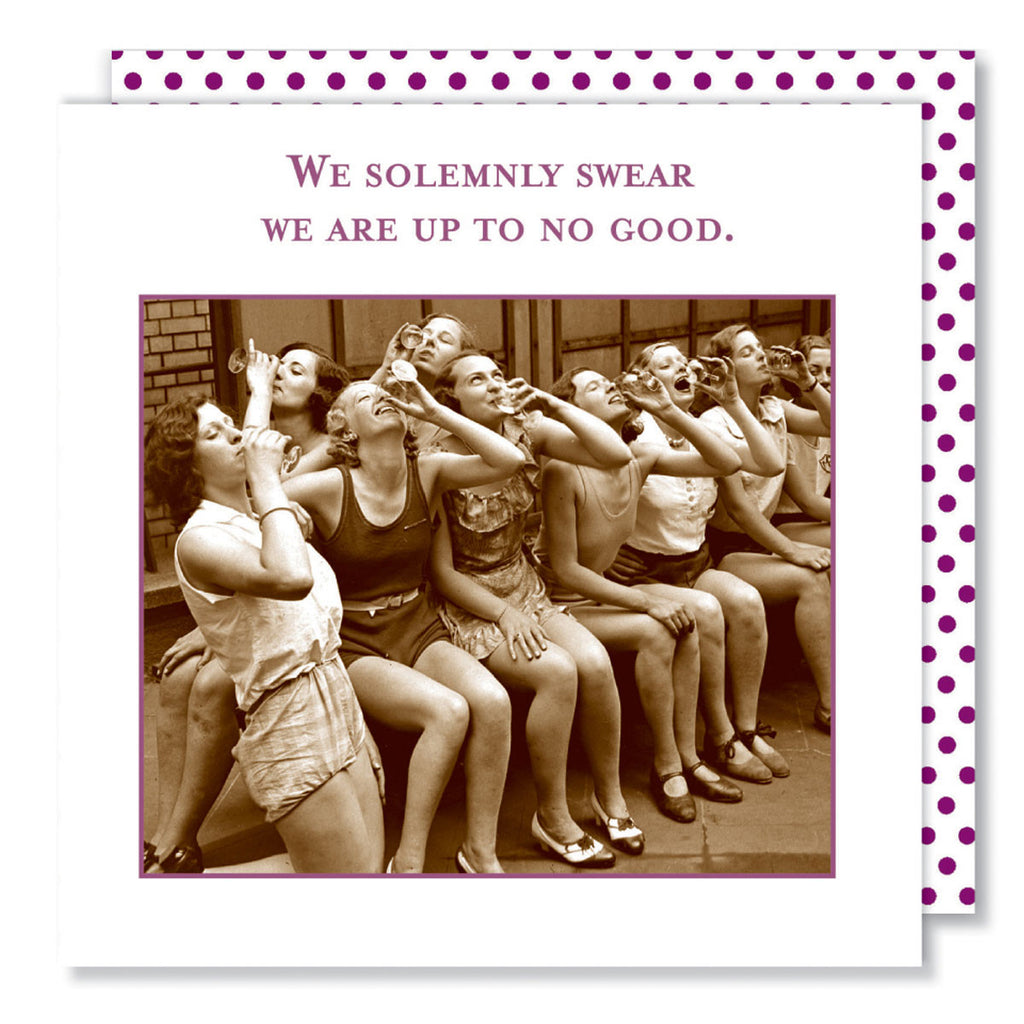 Solemnly Swear - Beverage Napkins - Shannon Martin - Jules Enchanting Gifts