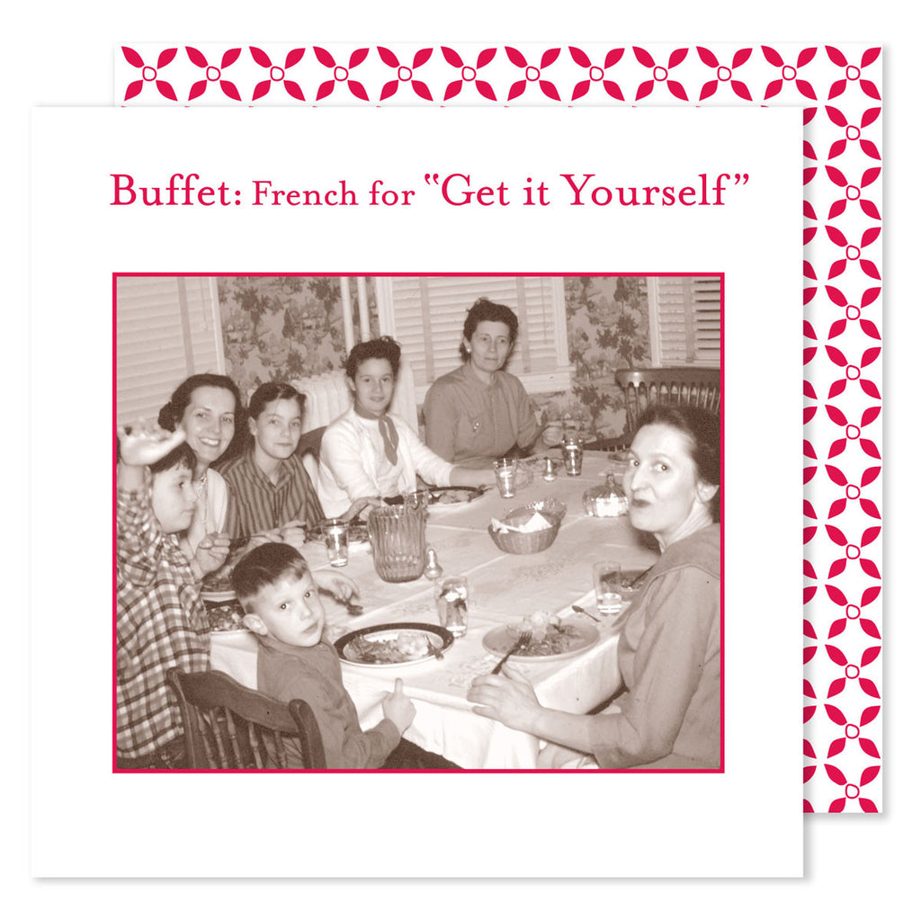 Buffet - Beverage Napkins