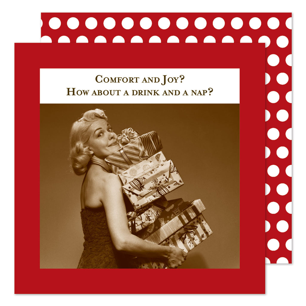 Comfort & Joy - Beverage Napkins